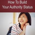 Building Your Authority Status